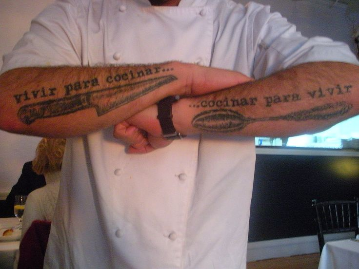 36 Best Culinary Tattoos Images On Pinterest Culinary