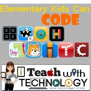 Karen Ogen- i Teach With Technology: Elementary Students Can CODE!