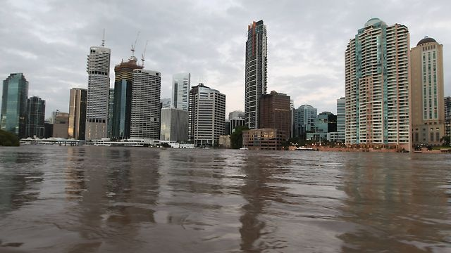 The Queensland floods... scary stuff