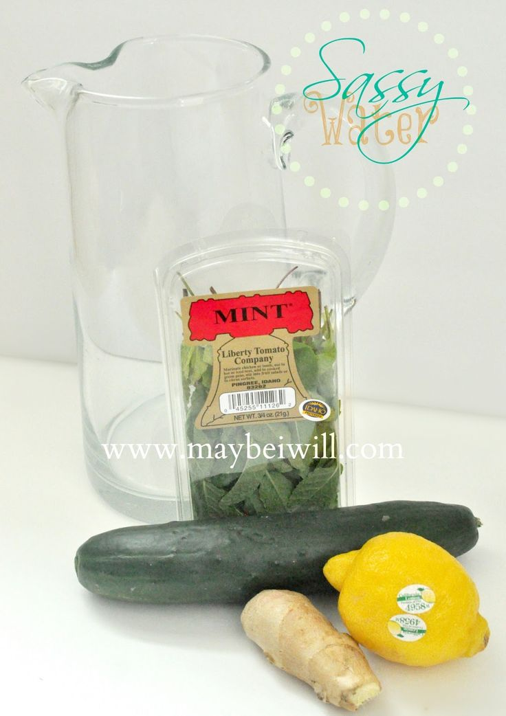 Sassy Water Detox from MaybeIWill.com.  A great cleanse, like scrubbing bubbles from your insides. :) #cleanse #detox