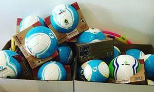 B Corp Senda Athletics makes Fair Trade soccer balls.