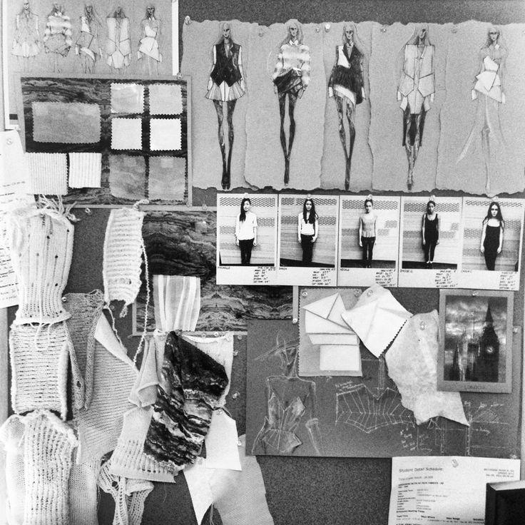 Fashion design sketches & fabric swatches - fashion portfolio; fashion sketchbook illustrations; fashion journal // Peter Do