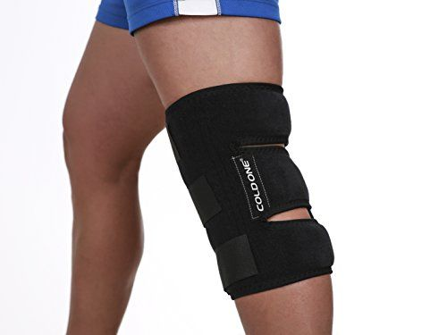 Knee Soft Brace Ice Pack + Compression Cold Therapy 360º knee Ice Wrap, 15-20 min of 32 deg f Knee Icing Recommended by Ortho MDs Safe and Effective. Universal Size. Clinical Quality. USA. #Knee #Soft #Brace #Pack #Compression #Cold #Therapy #knee #Wrap, #Icing #Recommended #Ortho #Safe #Effective. #Universal #Size. #Clinical #Quality. #USA.