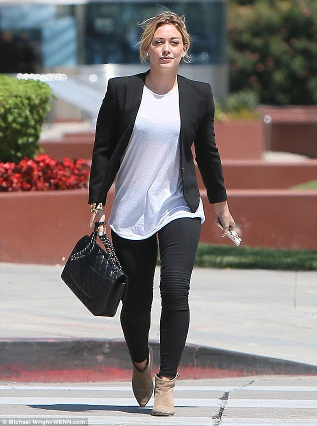 Hilary Duff Fashion Style June 2017