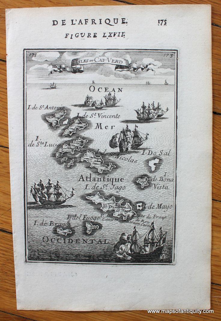 Cape Verde Islands Isles du Cap Verd