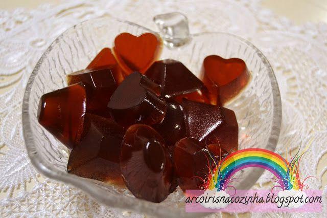 Arco-íris na Cozinha: Gomas de Coca-Cola