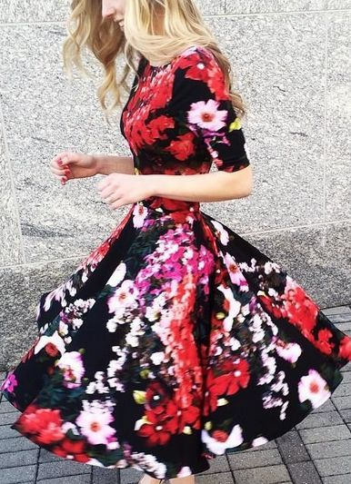 Photostat Floral Dress by Marc Bouwer by Holly Beeman http://www.pinterest.com/hollyfaithgreen/ #anthroregistry