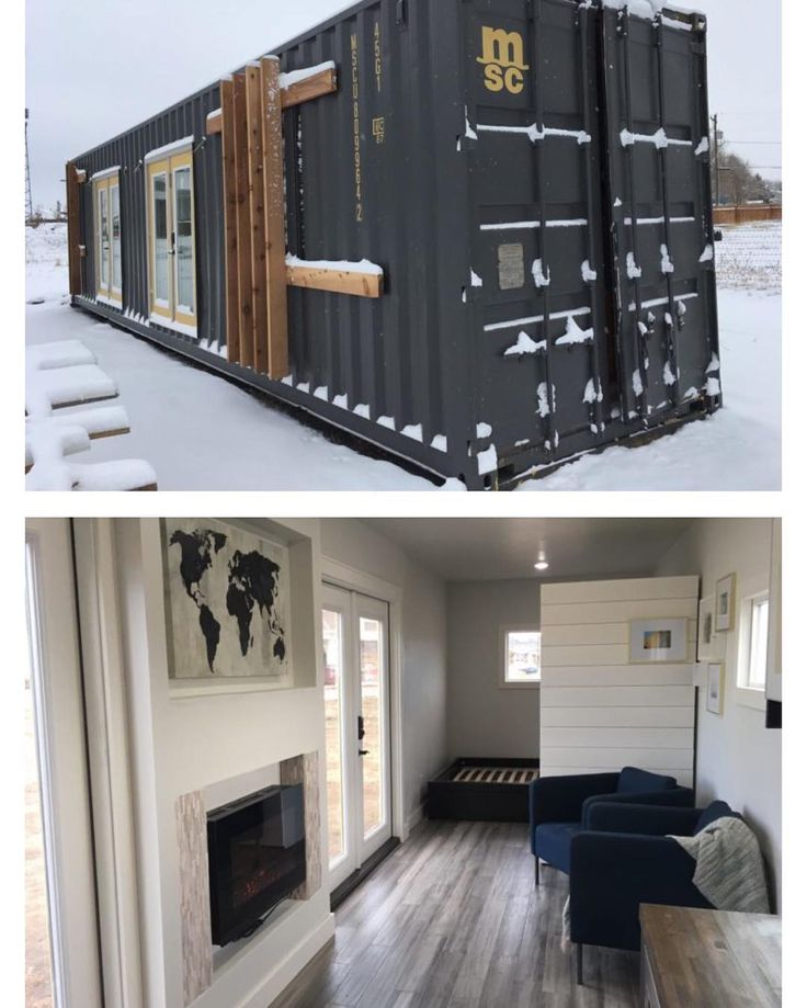 """""""The Intellectual"""" Shipping #Container #Home by Roostspace 