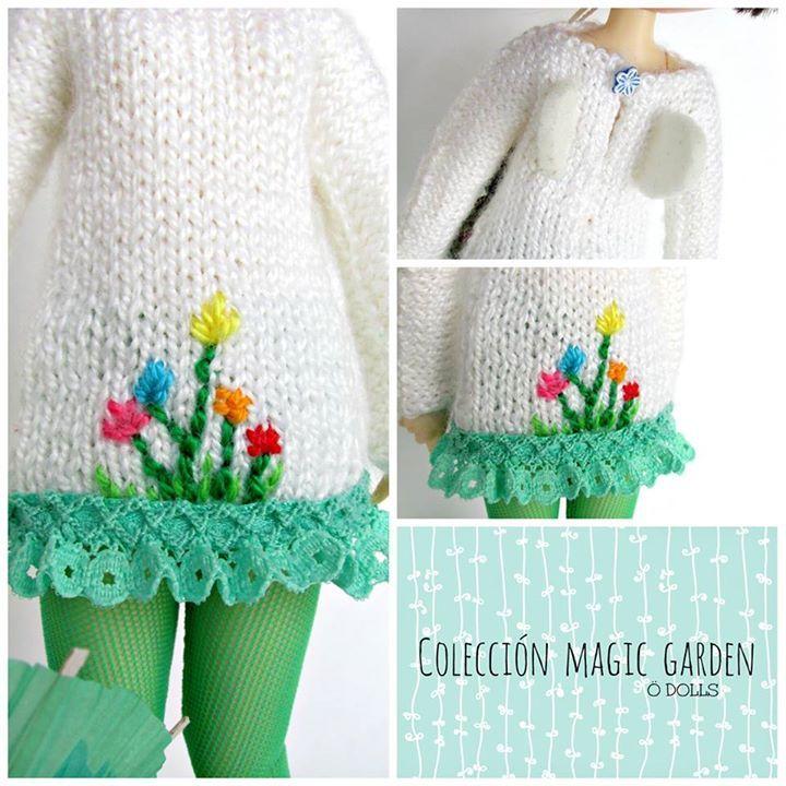 Nos encantan como remata sus diseños Susana de Ö Dolls con nuestras puntillas fruncidas #creatividad #diy #handmade