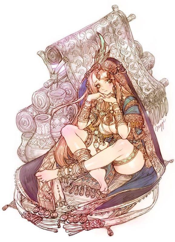 I'm waiting for someone- Tree of Savior Art