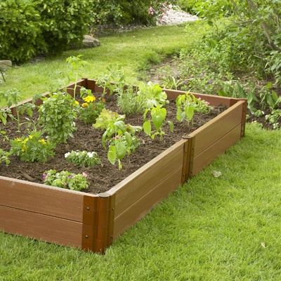 Raised garden bed material set from meijer 159 329 - Safest material for raised garden beds ...