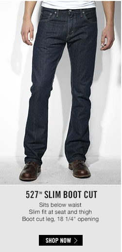 Levis 527 Boot Cut - I love this color! Only #Levis for my man!