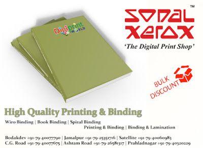 Sonal Xerox Digital Print Services: High Quality Printing & Binding
