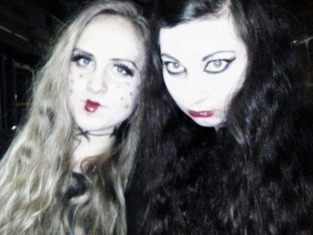 #halloween #makeup #blonde #brunette #poland