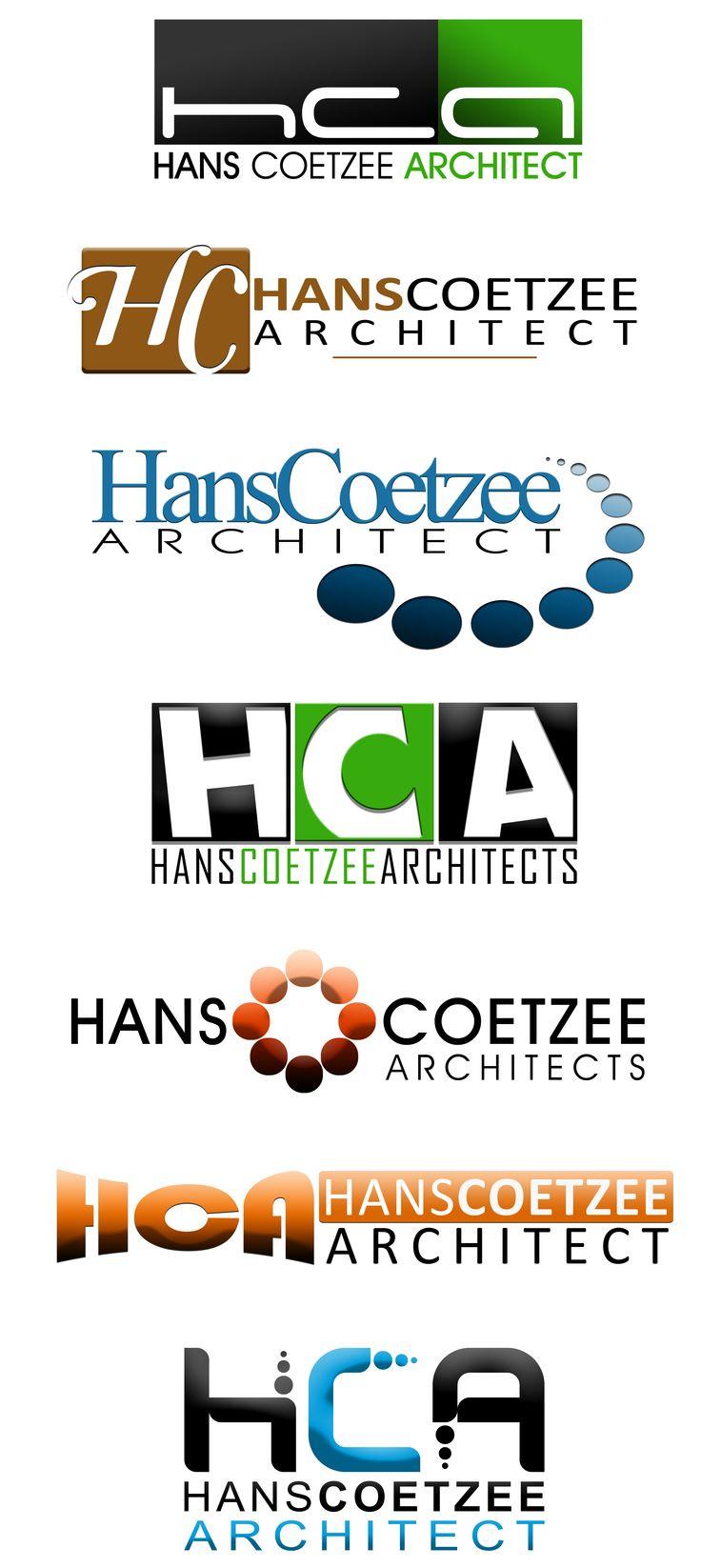 Concept Logo Designs for Hans Coetzee Architects