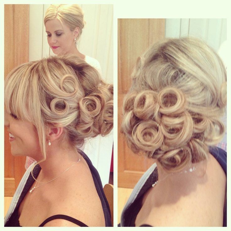 Magnificent 1000 Images About Hair Ups On Pinterest Pin Curls Pin Curl Hairstyles For Women Draintrainus