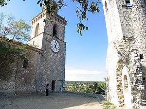 église de reillanne