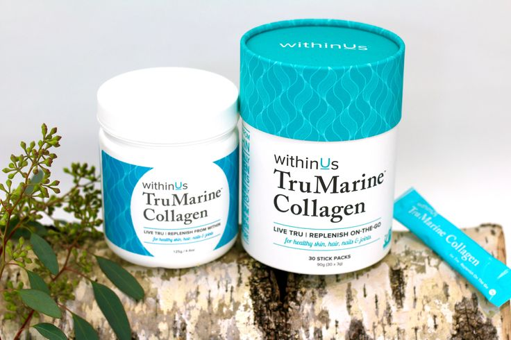 Adding one scoop of TruMarine™ Collagen to your daily regimen helps: Reduce fine lines and wrinkles Repair sun damage Increase skin hydration and suppleness Reduce joint pain Strengthen hair and nails Maintain bone health