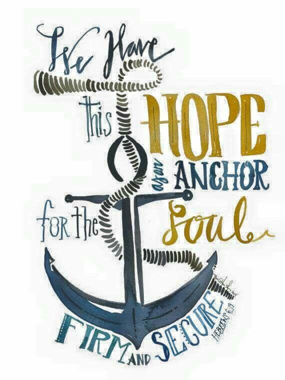 Footprint to make anchor