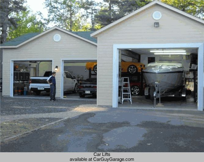 Car lifts garage lighting for 3 car garage with lift