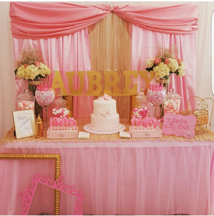 Royal princess baby shower party! See more party planning ideas at CatchMyParty.com!