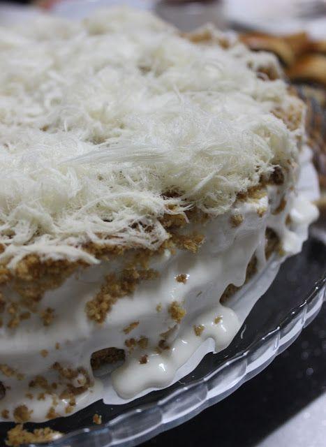 DAMLA ÇİKOLATA: Kokoş Pasta veya Pişmaniyeli Tatlı