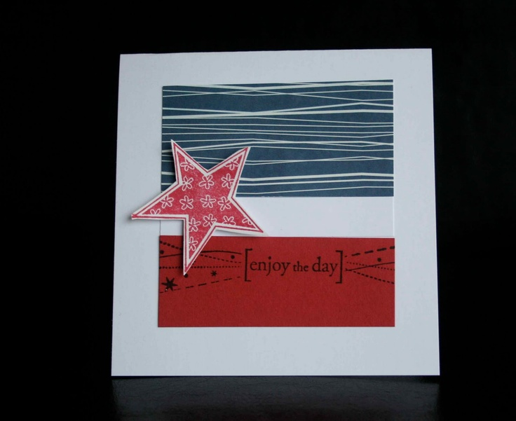 4th of july handmade card ideas