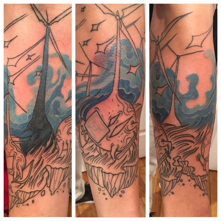 #tattoobychris at #dinosaurstudiotattoo of #windmills with #creatures #wind #landmass #blowinginthewind #halfsleeve @killabunzz #colortattoo #windenergy #freeenergy #green #greenliving #greenenergy #waukegan #lakeforestillinois #libertyvilleillinois #highlandparkillinois #gurneeillinois #customtattoo #tattoo #tatuaje #cowswithguns
