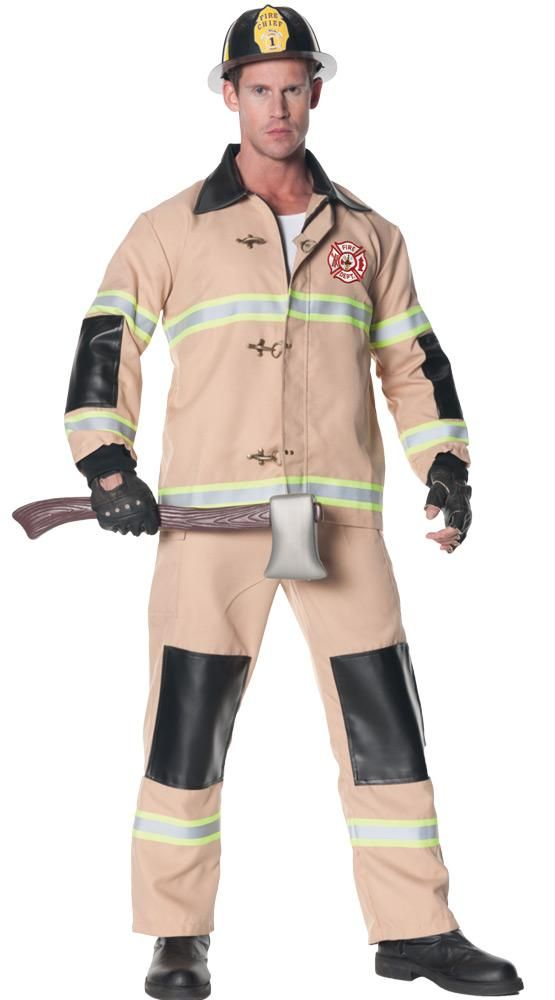 29102fd3 Firefighter Mens Costume Std | Products | Fireman outfit, Plus size ...