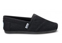 black toms go with everything!!! -except brown clothes... :)
