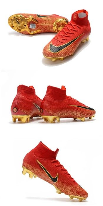 e122985e51f5f Nike Mercurial Superfly 6 Elite FG Zapatillas de Fútbol - Rojo Oro ...