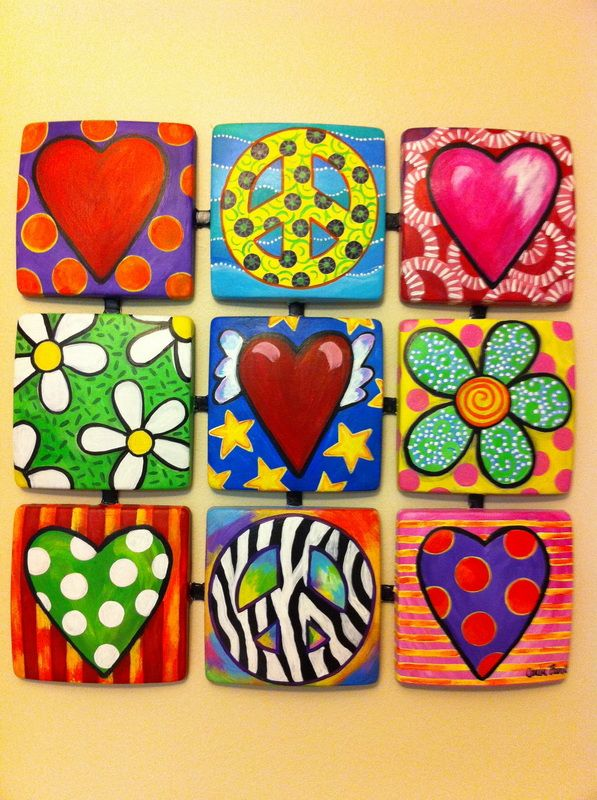funky hand painted furniture - Google Search