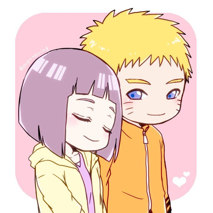 'Sometimes when he laughs, he looks exactly like you' - Hinata to Naruto about their son:'(