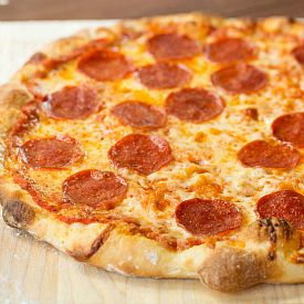 Thin Crust Pizza Recipe | Brown Eyed Baker