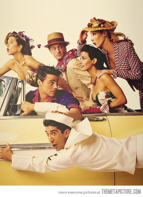 "I've never really ben into ""Friends"" but I AM into Norman Rockwell! So this is AWESOME!"