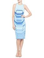 Dion Lee Print Shift Dress #autumnracing #dionlee #davidjones #AW2013 #fashion