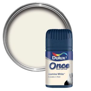 Dulux Jasmine White Matt Emulsion Paint 50ml Dulux Jasmine White Matt Emulsion Paint 50ml Tester Pot.This Jasmine white emulsion paint has been specially designed to give a stunning finish to your walls  ceilings. Simply apply one coat with a b http://www.MightGet.com/april-2017-1/dulux-jasmine-white-matt-emulsion-paint-50ml.asp