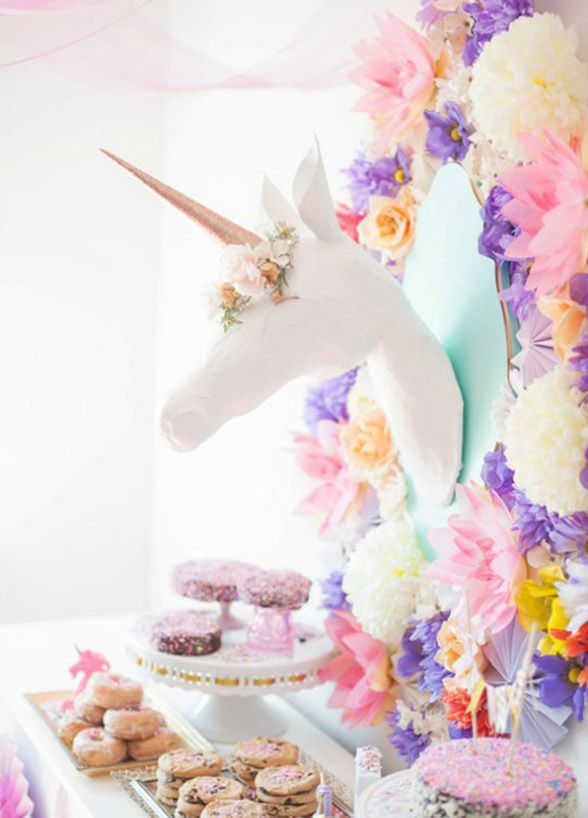 We've rounded up some of the most adult(ish) ways to add unicorn magic to your bridal shower that you and your girls are going to love!