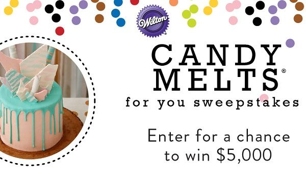 Would you like to accomplish your dream? Then enter today in Wilton Candy Melts for You Sweepstakes to win cash prizes worth $12000.  #Sweepstakes #Wincash