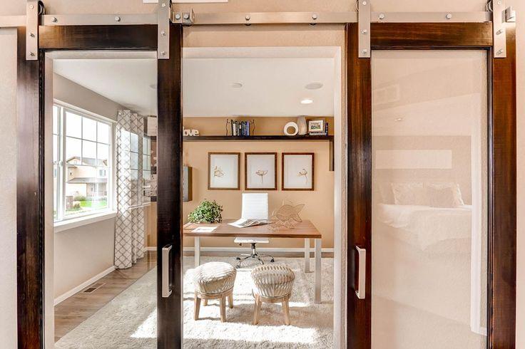 41 best stunning studies images on pinterest new homes for Sliding glass doors in plan