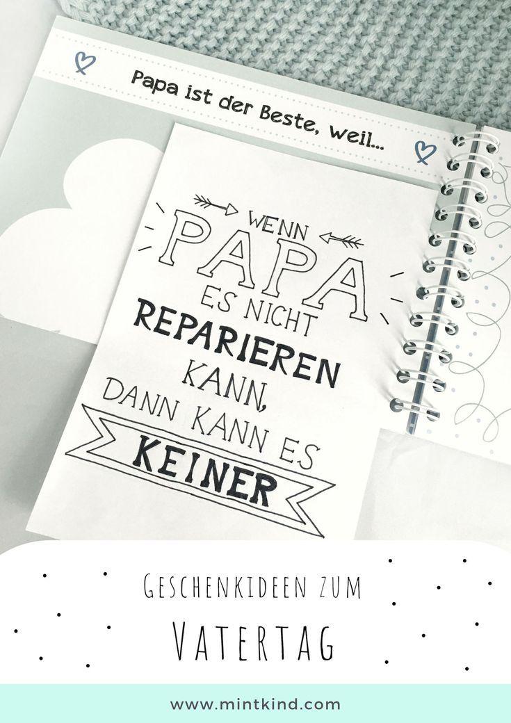 Ich Und Mein Papa Erinnerungsbuch Geschenk Vatertag