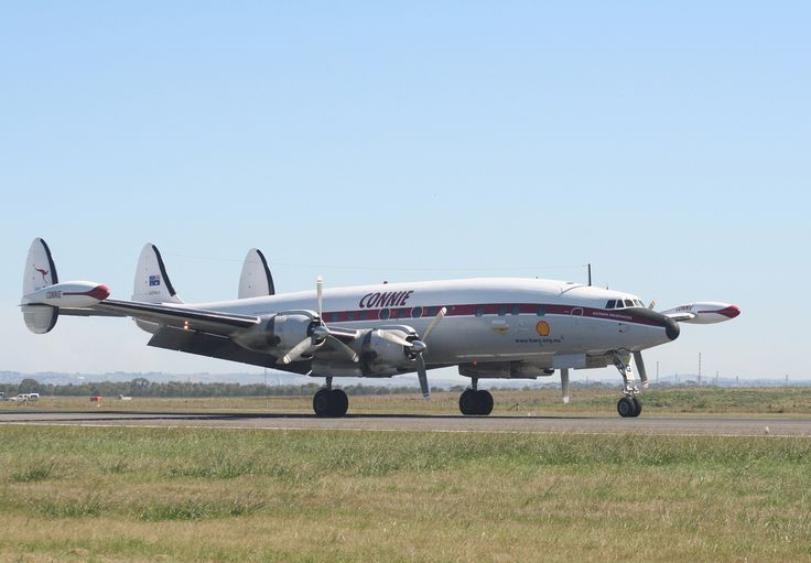 QANTAS Lockheed L 1049E Super Constellation (VH_EAG)