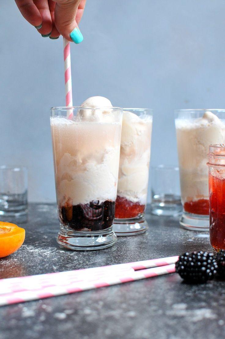 Boozy Ice Cream Floats