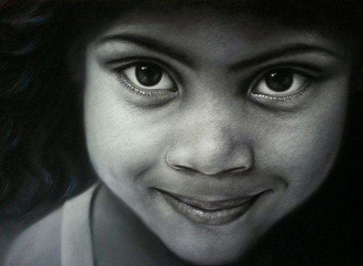 Diversidad 2 30 x 22 in Pastel on Canson board