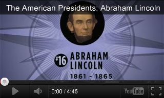 Educational videos and related activities about Abraham Lincoln for elementary, intermediate, and high school students. http://www.teachervision.fen.com/presidents-day/video/73208.html #PresidentsDay