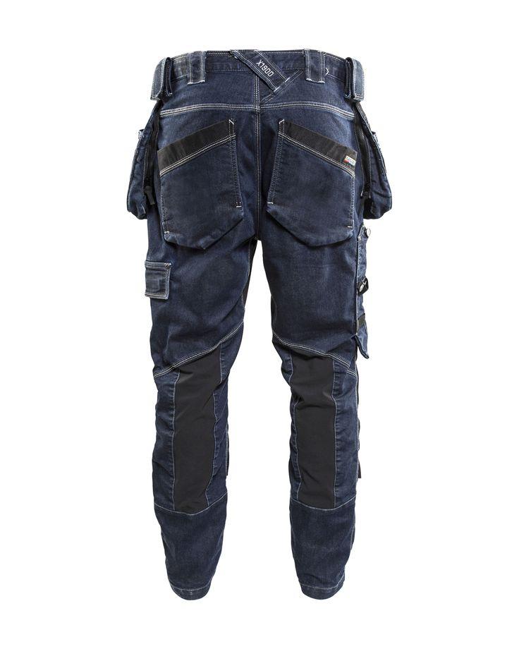 Blåkläder -                                 199911418999 X1900 Baggy Denim Stretch