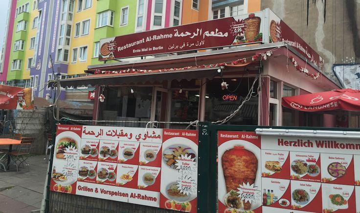 Al-Rahme (Flughafenstraße 49).  В этом месте, расположенном рядом с мечетью, под стеной с огромным граффити «Vladimir pussy», в день открытия продавали фалафели по 1 (одному) центу! Сейчас цены, конечно, выросли, но не намного.