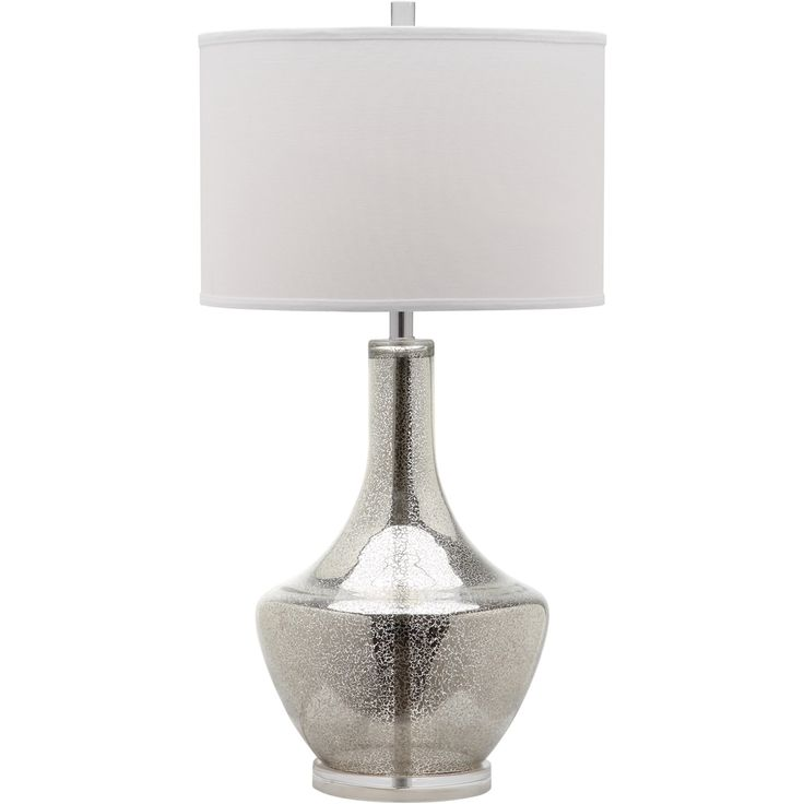 Awesome Safavieh Mercury Ivory/Silver Rotary Socket Table Lamp With Fabric Shade At  Loweu0027s. Cast A Romantic Glow In Your Living Room Or Bedroom With The ...