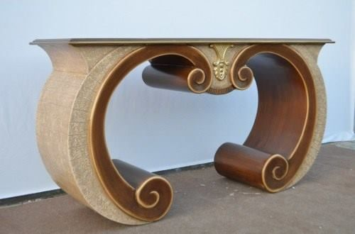 Nietypowy kształt i oryginalne dekoracyjne detale - konsola od Indian Meble stanowi prawdziwą ozdobę dla wnętrz :D http://bit.ly/1R3zPB3 :)