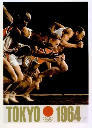 1964 Tokyo Olympic Official Poster